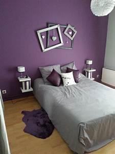 Dcoration Chambre Violet Et Gris DECORATIONGuide