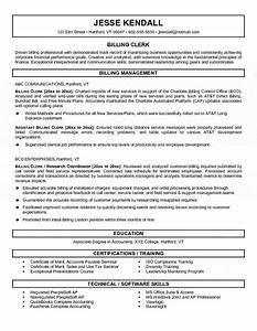 Medical Billing Manager Resume Billing Clerk Resume
