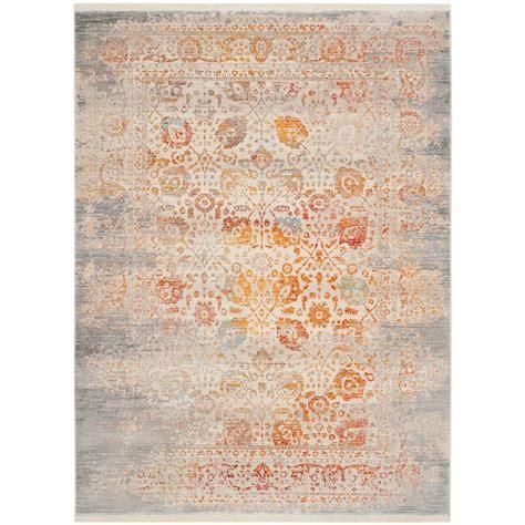 vintage area rugs safavieh vintage gray multi 6 ft x 9 ft area rug 3158