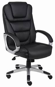 Boss, Office, Products, Black, Ntr, Executive, Chair, With, Knee, Tilt, -, Walmart, Com