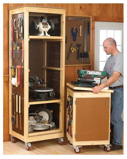 project lady woodshop tool storage system project
