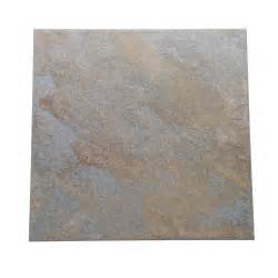 blue porcelain floor tile daltile continental slate tuscan blue 12 in x 12 in porcelain floor and wall tile 15 sq ft