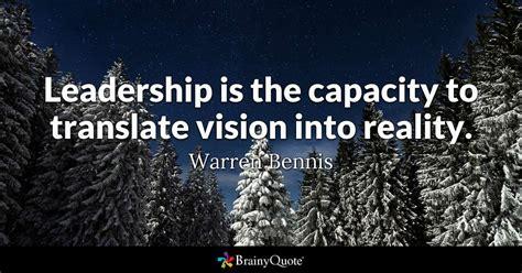 leadership   capacity  translate vision