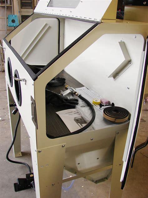 sandstrahlgerät selber bauen sandstrahlkabine sandstrahlger 196 t sbc 420 drehteller ebay