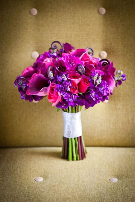 Captain Promise Calla Lilies In A Mixed Purple And Magenta