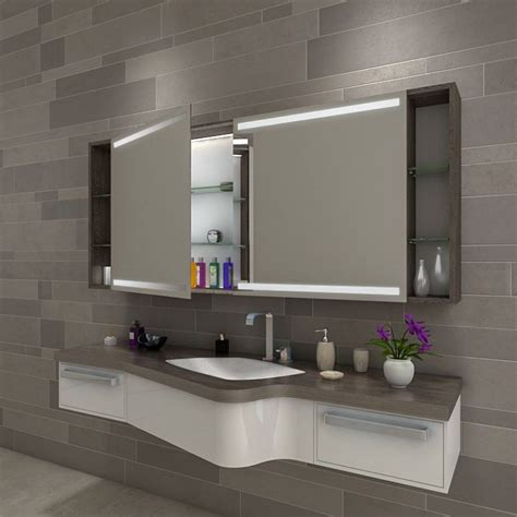 Badezimmer Spiegelschrank Dachschräge by Catania Badezimmer Spiegelschrank Mit Beleuchtung