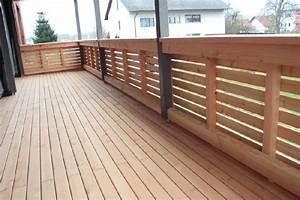 Balkonverkleidung Holz100 Zimmerei Steigitzer