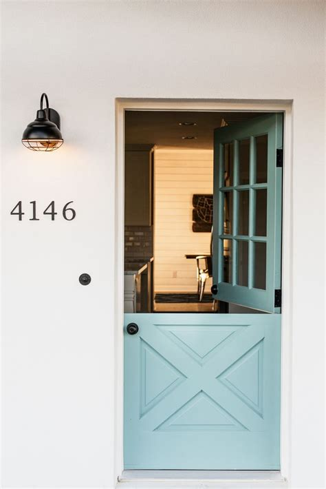 Custom dutch door   by Rafterhouse.   Entry   Pinterest