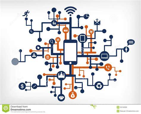 communication network royalty  stock image image