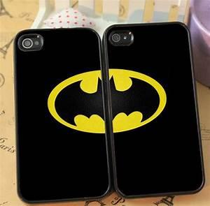 Batman Cute Couple phone case for iphone 4/4s 5/5s Galaxy ...