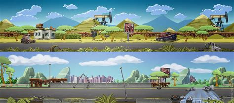 art outsourcing  background illustrations concept