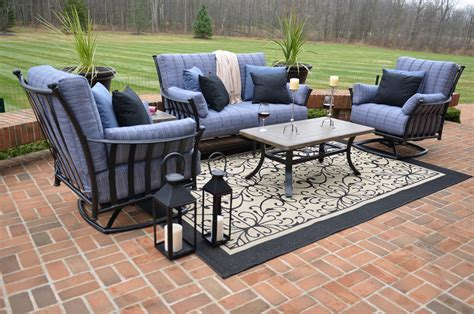 amia 5 luxury cast aluminum patio furniture