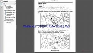 Subaru Wrx Sti V10 2016 Service Manual