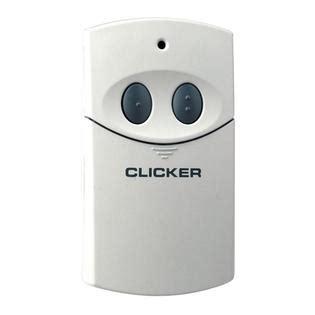 clicker garage opener clicker remote universal garage door opener