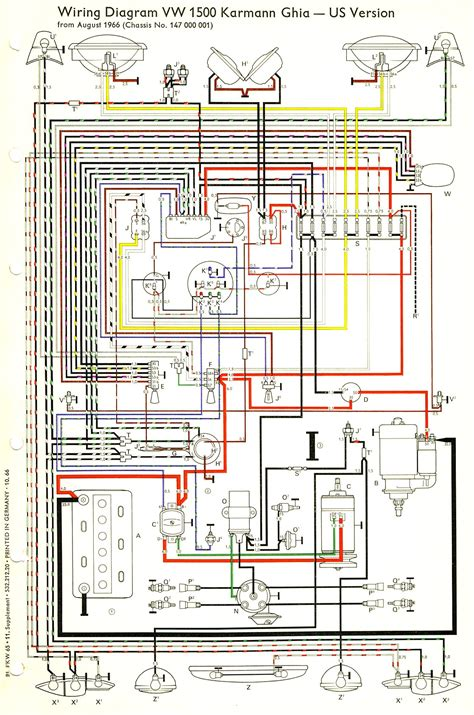 1967 vw horn wiring diagram wiring diagrams schematics
