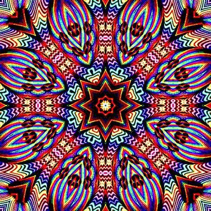 Trippy Kaleidoscope Gifs Psychedelic Shroomery Fractal Patterns