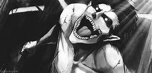 b snk eren jaeger snkgif Eren Yeager Colossal Titan female ...