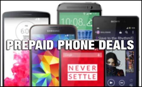 prepaid cell phone deals prepaid phones on