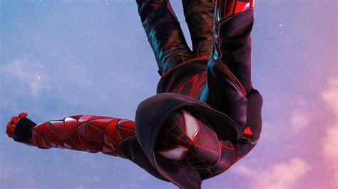 marvels spider man miles morales  wallpaper photo