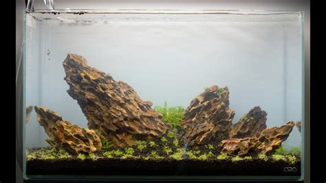 Setting Aquascape by Aquascape Set Up Step By Step Ada 60p