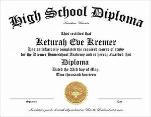 30 free high school diploma template printable With free fake high school diploma templates