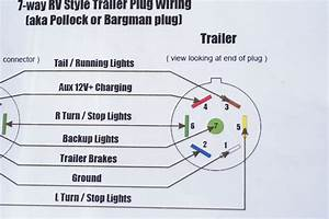 7 Way Plug Wiring Diagram Light