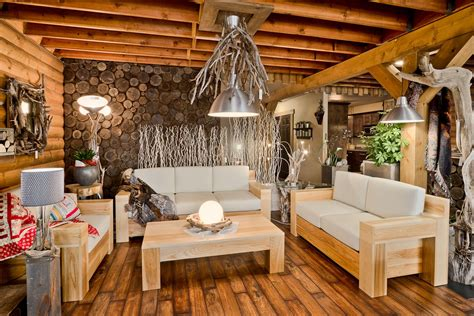 Wood Haus Living Room Collection