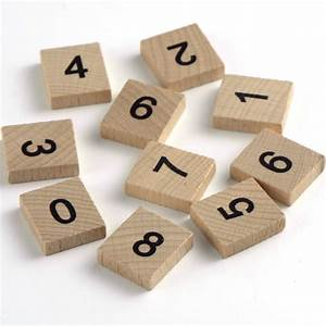100 wooden scrabble tiles black letters and numbers for With wooden craft letters and numbers