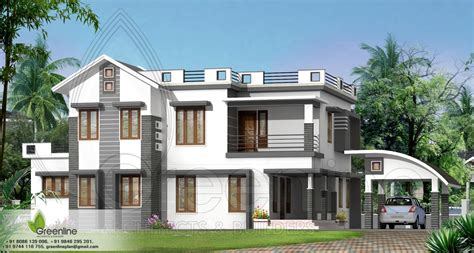 Exterior Design Duplex Home Indian Views  Dma Homes  #40670