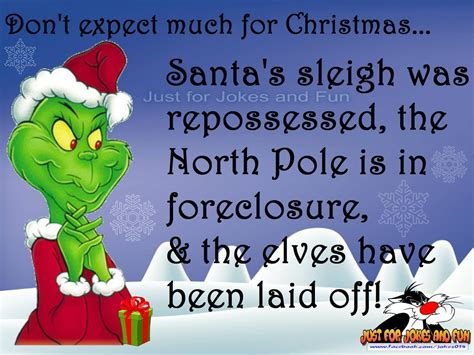 May your holidays be wreathed in joy. Funny Christmas Quote With The Grinch   Christmas quotes ...