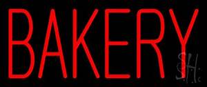 Red Bakery Neon Sign Bakery Neon Signs Every Thing Neon