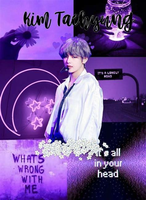 poster aesthetic ungu