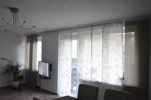 Vorhänge Große Fenster : wohnzimmer gardinen ~ Sanjose-hotels-ca.com Haus und Dekorationen