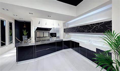 modern black white kitchen design ideas kitchen design