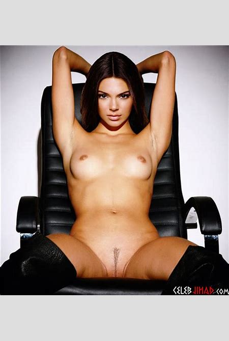 Kendall Jenner Completely Naked Photo Shoot
