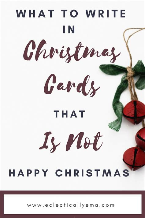 It can be a simple gift or a simple christmas card. 15 Best Christmas Messages to write for cards at Christmas. -   Best christmas messages ...