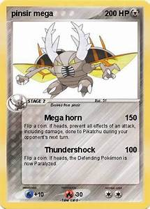 Pokémon pinsir mega - Mega horn - My Pokemon Card