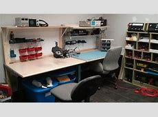 Electronics Bench Complete! Splat Space