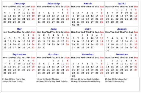 uk public holidays  calendar
