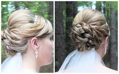 wedding updos  medium hair
