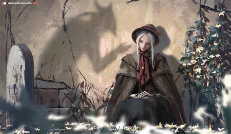 Bloodborne by wlop on DeviantArt