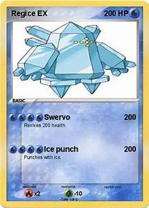 Pokémon Regice EX 17 17 - Swervo - My Pokemon Card
