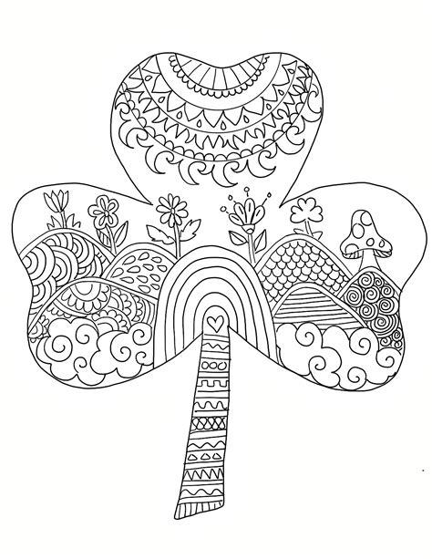 st patricks day coloring pages coloringrocks