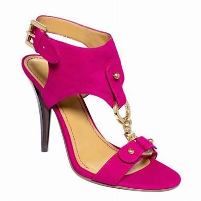 Sandals Nine West Fuschia Pink Bezel Shoes
