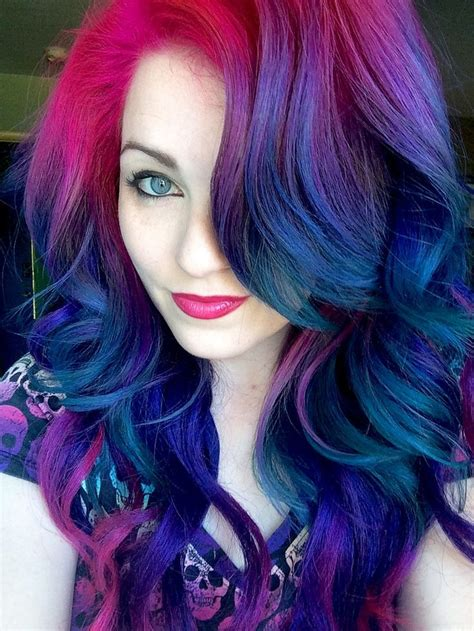 Cool Colors To Dye Hair by Best 25 Colourful Hair Ideas On Dyed Hair