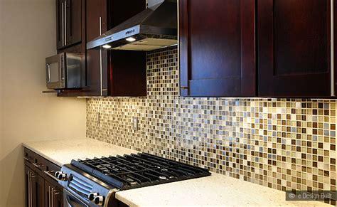 glass mosaic tile kitchen backsplash brown beige glass metal mix backsplash tile backsplash