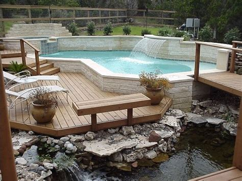 Patio And Pool Deck Ideas by A Look The Deck Design Ideas