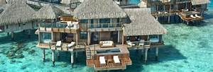 Overwater bungalows overwater rooms south pacific islands for Honeymoon huts over water
