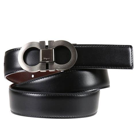 Ferragamo Men's Belts In Black For Men