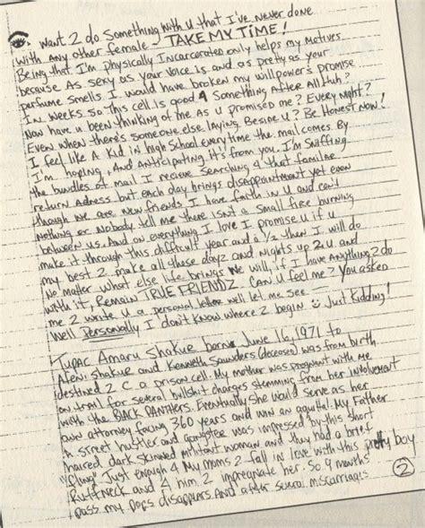 makaveli immortalized  personal handwritten ilaaavyou